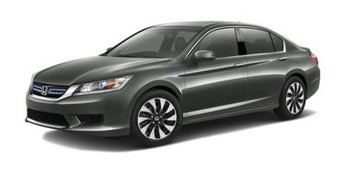 2014 Crystal Black Honda Accord EX-L Automatic (CVT) FWD 2.0L 4-Cylinder i-VTEC Engine 4 Door Sedan