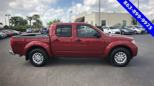 2017 Red Nissan Frontier SV V6 Truck RWD 4.0L V6 DOHC Engine 4 Door Automatic