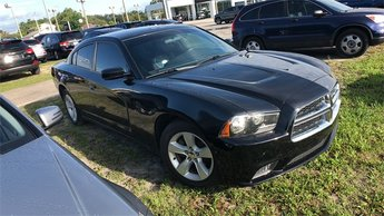 2014 Pitch Black Dodge Charger SE RWD 4 Door Automatic Sedan