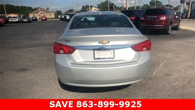 2017 Silver Ice Metallic Chevrolet Impala LT 4 Door 3.6L V6 DI DOHC Engine Automatic Sedan FWD