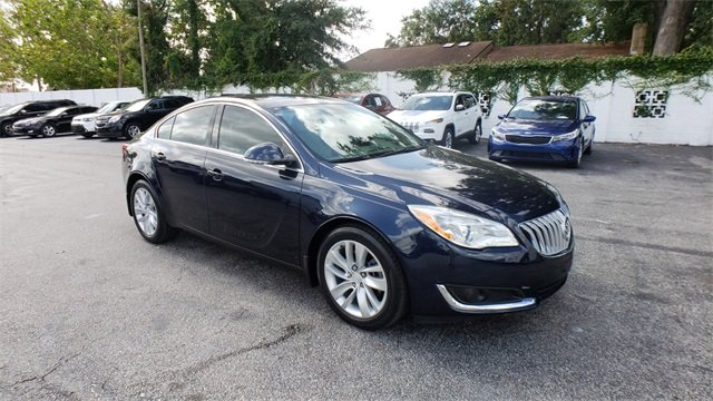 2015 Buick Regal Turbo Automatic 4 Door Sedan 2.0L 4-Cylinder DGI DOHC VVT Turbocharged Engine FWD