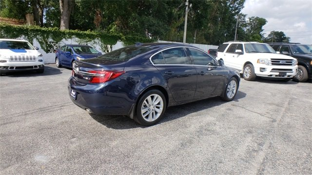 2015 Dark Sapphire Blue Metallic Buick Regal Turbo 2.0L 4-Cylinder DGI DOHC VVT Turbocharged Engine 4 Door Sedan Automatic FWD