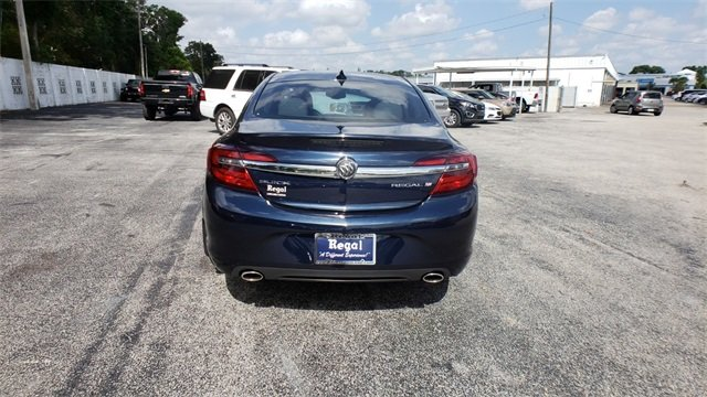 2015 Buick Regal Turbo Automatic 4 Door Sedan 2.0L 4-Cylinder DGI DOHC VVT Turbocharged Engine