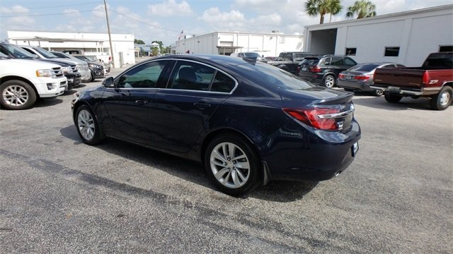 2015 Dark Sapphire Blue Metallic Buick Regal Turbo 2.0L 4-Cylinder DGI DOHC VVT Turbocharged Engine FWD Automatic Sedan 4 Door