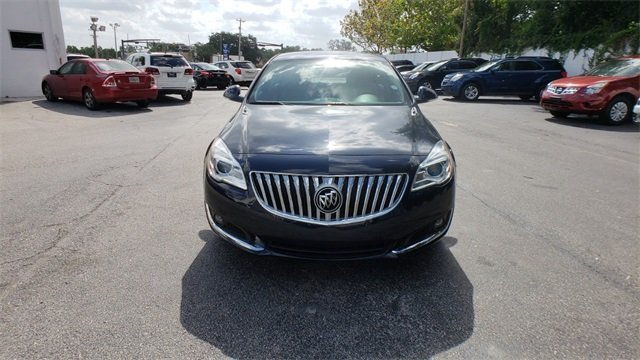 2015 Dark Sapphire Blue Metallic Buick Regal Turbo Automatic FWD Sedan 2.0L 4-Cylinder DGI DOHC VVT Turbocharged Engine 4 Door