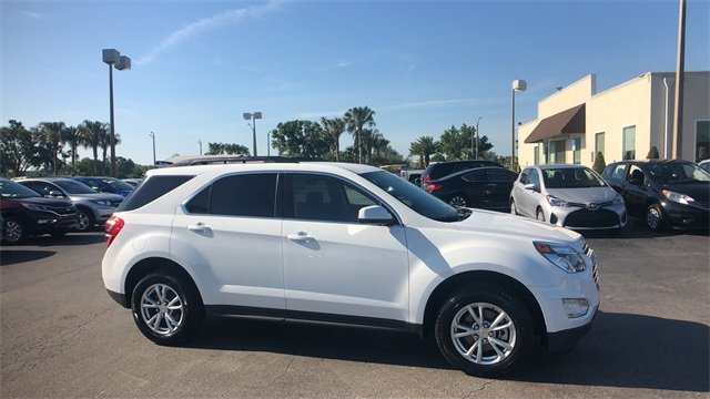 2017 Summit White Chevrolet Equinox LT 4 Door 2.4L 4-Cylinder SIDI DOHC VVT Engine FWD