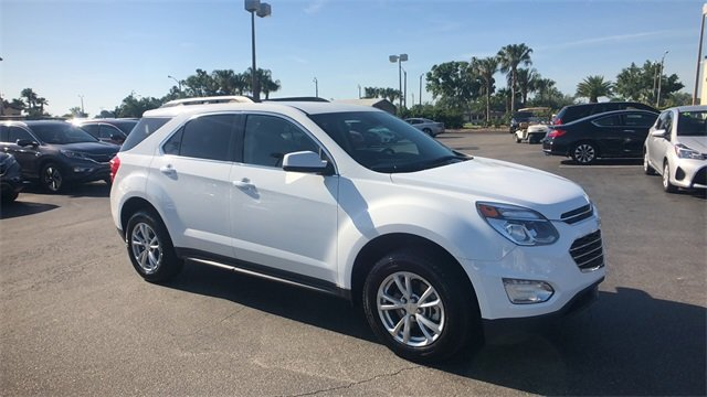 2017 Summit White Chevrolet Equinox LT 2.4L 4-Cylinder SIDI DOHC VVT Engine Automatic FWD 4 Door