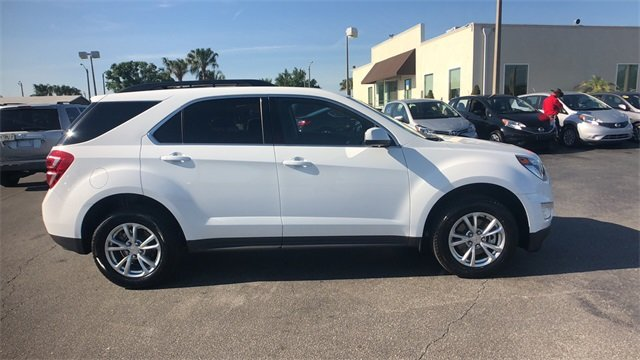 2017 Summit White Chevrolet Equinox LT FWD 4 Door SUV