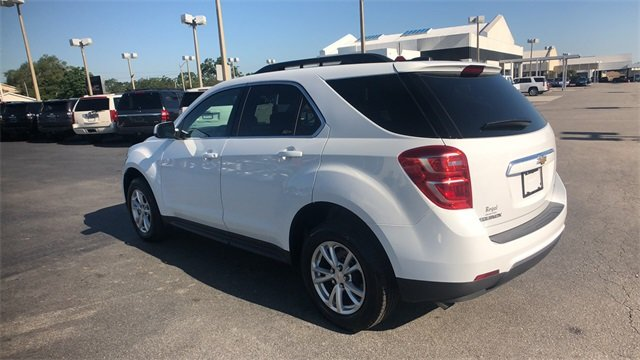 2017 Summit White Chevrolet Equinox LT SUV 2.4L 4-Cylinder SIDI DOHC VVT Engine Automatic