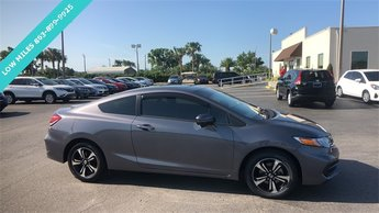 2014 Graphite Honda Civic EX FWD 1.8L I4 SOHC 16V i-VTEC Engine 2 Door