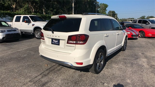 2016 Dodge Journey Crossroad Plus 2.4L I4 DOHC 16V Dual VVT Engine Automatic FWD 4 Door