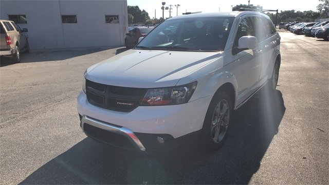 2016 White Dodge Journey Crossroad Plus 4 Door Automatic 2.4L I4 DOHC 16V Dual VVT Engine FWD