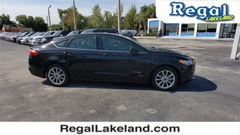 2017 Shadow Black Ford Fusion Hybrid Hybrid SE Sedan FWD 4 Door
