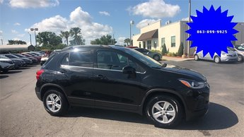 2017 Black Chevrolet Trax LT FWD ECOTEC 1.4L I4 SMPI DOHC Turbocharged VVT Engine SUV Automatic 4 Door
