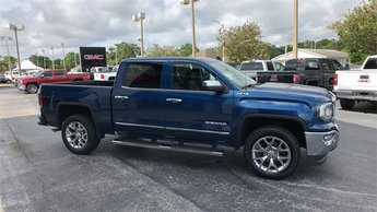 2016 Blue GMC Sierra 1500 SLT EcoTec3 5.3L V8 Engine 4 Door 4X4