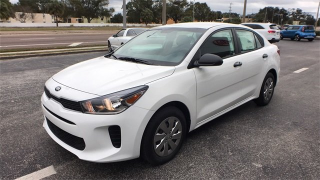 2018 Kia Rio LX Manual FWD Sedan