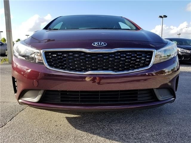 2018 Garnet Red Kia Forte LX 2.0L 4-Cylinder Engine 4 Door Automatic FWD