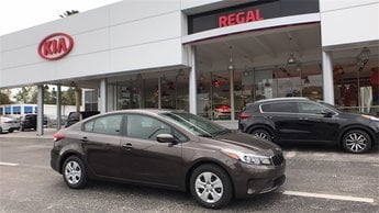 2018 Titanium Bronze Kia Forte LX Sedan Automatic 4 Door