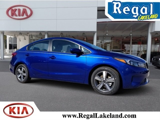 2018 Kia Forte S Sedan 4 Door 2.0L I4 DOHC Dual CVVT Engine Automatic FWD