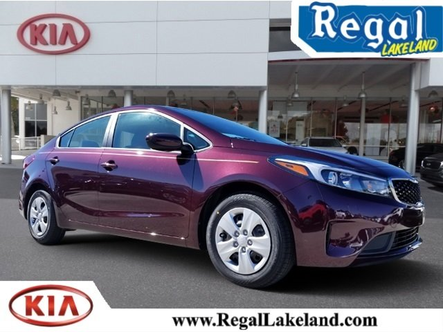 2018 Garnet Red Kia Forte LX FWD Automatic 4 Door Sedan