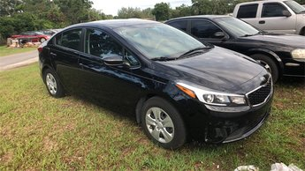 2017 Aurora Black Kia Forte LX 4 Door Sedan 2.0L I4 DOHC Dual CVVT Engine FWD Automatic