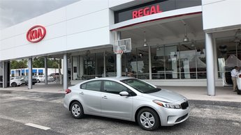 2018 Silky Silver Kia Forte LX Automatic 4 Door FWD