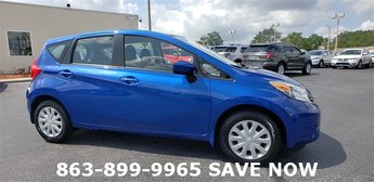 2016 Blue Nissan Versa Note 1.6L 4-Cylinder DOHC 16V Engine Hatchback 4 Door Automatic (CVT)