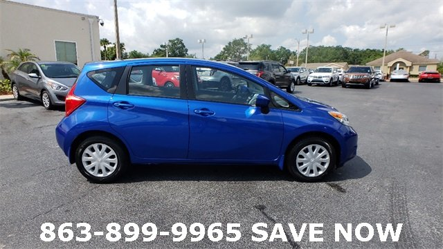2016 Blue Nissan Versa Note Hatchback 1.6L 4-Cylinder DOHC 16V Engine 4 Door