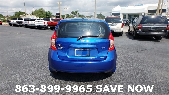 2016 Nissan Versa Note 1.6L 4-Cylinder DOHC 16V Engine Hatchback 4 Door Automatic (CVT) FWD