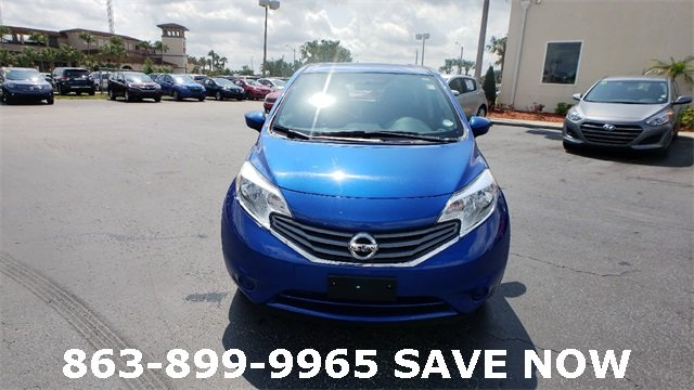 2016 Blue Nissan Versa Note 1.6L 4-Cylinder DOHC 16V Engine FWD Hatchback 4 Door Automatic (CVT)