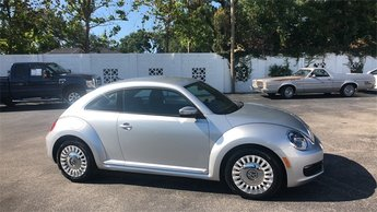 2014 Silver Volkswagen Beetle 1.8T Automatic 1.8L 4-Cylinder DGI Turbocharged DOHC Engine 2 Door Hatchback FWD