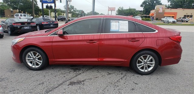 2015 Hyundai Sonata 2.4L SE Sedan 2.4L 4-Cylinder DGI DOHC Engine 4 Door Automatic