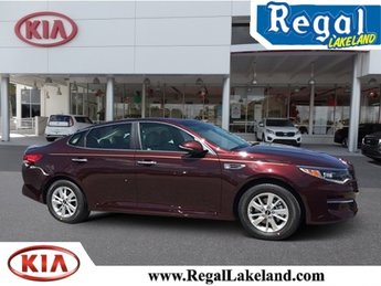 2018 Sangria Kia Optima LX 4 Door Sedan 2.4L 4-Cylinder Engine Automatic FWD