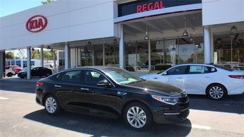 2018 Ebony Black Kia Optima LX Automatic FWD 4 Door Sedan 2.4L 4-Cylinder Engine