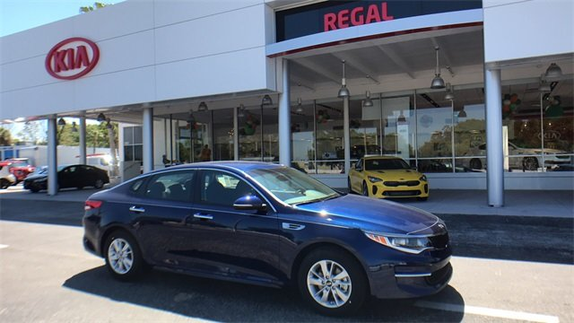 2018 Horizon Blue Kia Optima LX FWD Sedan 2.4L 4-Cylinder Engine Automatic