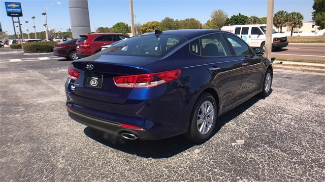 2018 Kia Optima LX 4 Door FWD 2.4L 4-Cylinder Engine Sedan