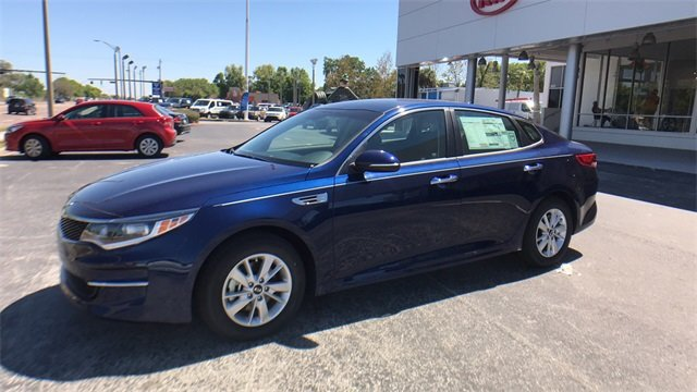 2018 Horizon Blue Kia Optima LX Automatic FWD Sedan 4 Door