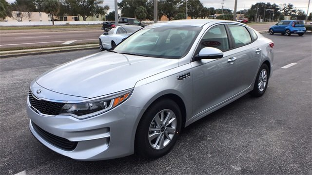 2018 Kia Optima LX Sedan Automatic 2.4L 4-Cylinder Engine