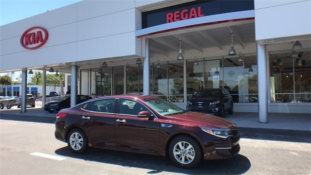 2018 Sangria Kia Optima LX 4 Door Automatic Sedan
