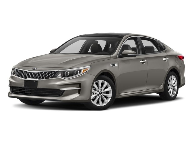 2018 Titanium Silver Kia Optima LX Automatic Sedan FWD