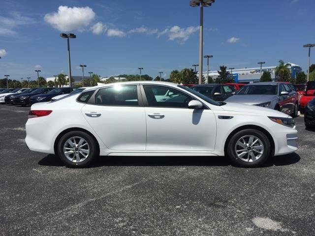 2018 Snow White Pearl Kia Optima LX Sedan Automatic 4 Door FWD