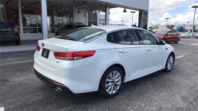 2018 Kia Optima EX 4 Door 2.4L 4-Cylinder Engine Sedan FWD Automatic