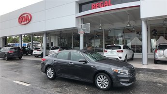 2018 Platinum Graphite Kia Optima EX Sedan 2.4L 4-Cylinder Engine FWD 4 Door