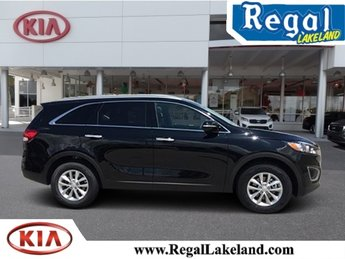 2018 Ebony Black Kia Sorento LX FWD SUV 4 Door 2.4L 4-Cylinder Engine