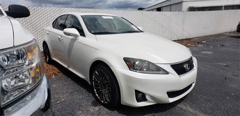 2011 White Lexus IS 250 Sedan Automatic RWD 2.5L V6 DOHC 24V VVT-i Engine