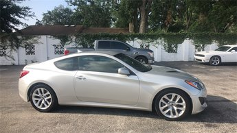 2013 Circuit Silver Hyundai Genesis Coupe 2.0T 2 Door Automatic Coupe RWD 2.0L 4-Cylinder DOHC 16V Dual CVVT Engine