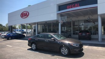 2018 Granite Brown Kia Optima LX Sedan Automatic FWD 4 Door 2.4L 4-Cylinder Engine