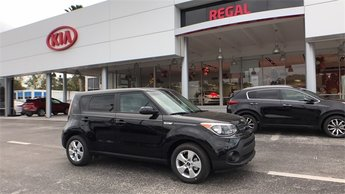 2018 Shadow Black Kia Soul Base 1.6L 4-Cylinder Engine Automatic Crossover