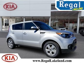 2018 Bright Silver Kia Soul Base Automatic 1.6L 4-Cylinder Engine FWD