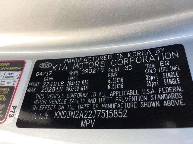 2018 Kia Soul Base Automatic Crossover FWD 4 Door 1.6L 4-Cylinder Engine